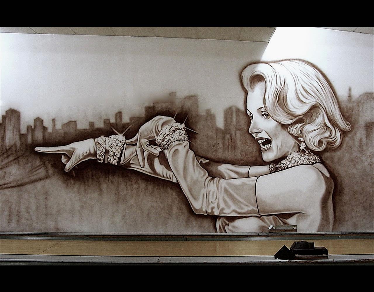 Spray Airtist by Airbrush Artist John Callaghan
